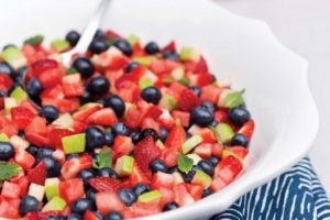 Summer Cocomerata Fruit Salad